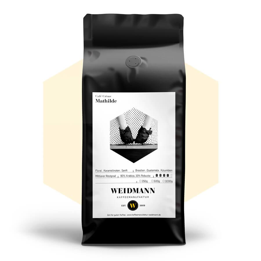Mathilde Kaffee Kaffeemanufaktur Weidmann