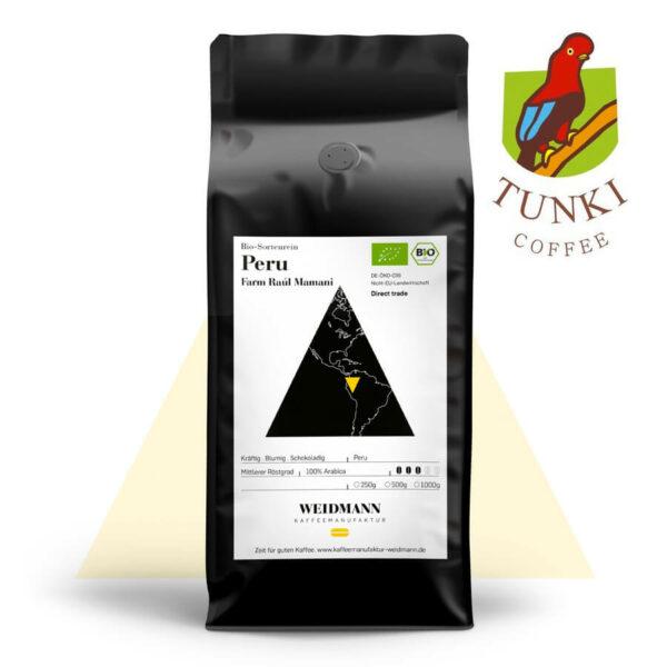 TUNKI Coffee Peru